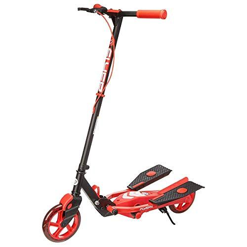 Yvolution Y Flyer Kids Pedaling Stepper Scooter - Geschikt voor kinderen vanaf 7 jaar