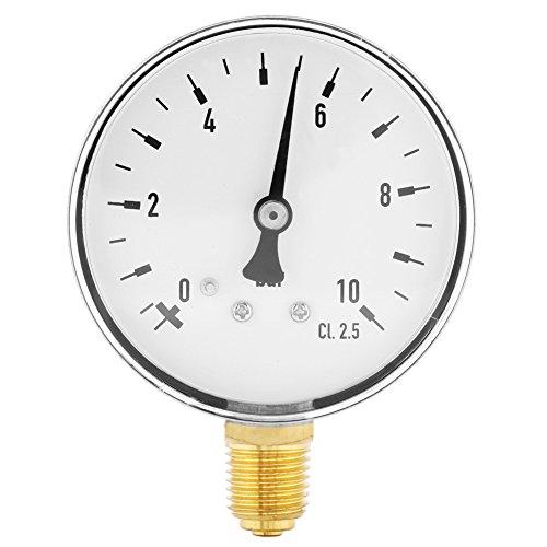 0-10 Bar Manometer Meter Side Mount Pneumatische Und Hydraulische Allzweck Luft Öl Wasser Gas Piezometer 1/4