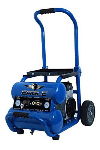 Eagle EA-5000 Silent Series 5000 Air Compressor 125 psi MAX...