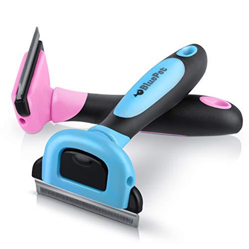 Bluepet® UnterwollGlück deShedding Katzenbürste & Hundebürste   Entfernung der Unterwolle   66mm