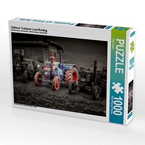 CALVENDO Puzzle Oldtimer Traktoren Lanz-Bulldog 1000 Teile Lege-Größe 64 x 48 cm Foto-Puzzle Bild von Peter Roder