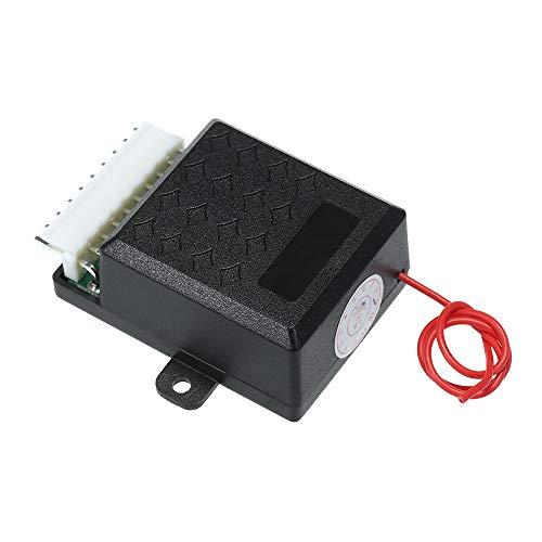 Lechnical Auto Zentralverriegelung, 12V Universal Auto Zentralverriegelung Türschloss Fahrzeugschlüsselloses Zugangssystem mit 2 Fernbedienung