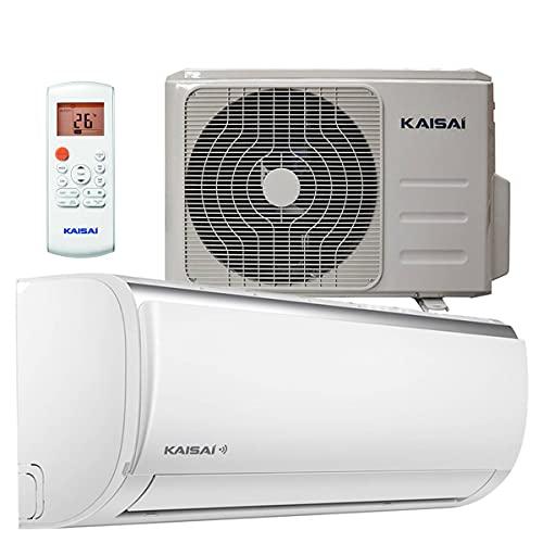 Kaisai Fly Split Klimaanlage Wifi 5,3kW 18000 BTU (70m²), leise und energiesparende A++/A+ Inverter Klimaanlage, Komplettset vorgefüllt mit Kühlmittel inkl. Montageset