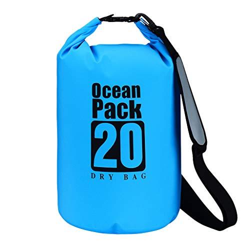 Dapei PVC wasserdichter Packsack Sack Ocean Pack schwimmendes Bootfahren Kayaking Camping 20L