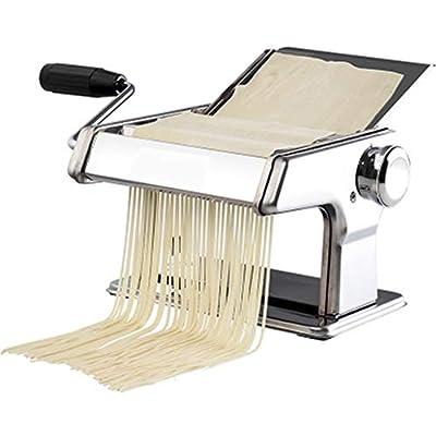 WSSW Spaghetti Machine Multifunctional Small All-Steel Noodle Machine Noodle Rolling Machine Noodle Machine Vegetable Noodle Machine Convenience Household Hand Crank
