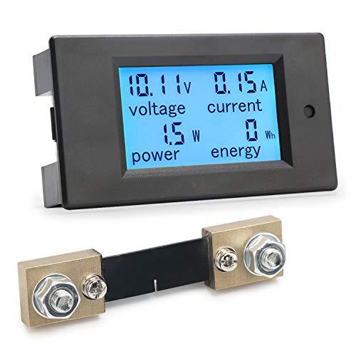 Multimetro digitale, Droking DC Meter 6.5-100V 100A Display LCD Tensione corrente Potenza Tester energia 12V 24V 36V 48V 60V 72V Rivelatore amperometr