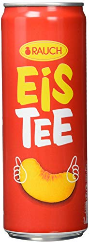 Rauch EisTee Pfirsich, 24er Pack (24 x 0,355 l)