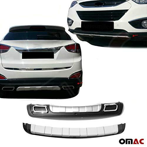 Unterfahrschutz Spoiler Rammschutz Diffusor ABS Set Vorne + Hinten Hyundai ix35