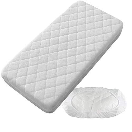 Protector Colchón Acolchado Impermeable - Minicuna 50 x 80