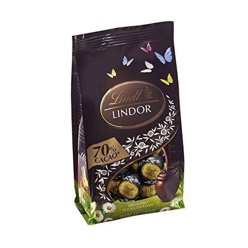 Lindt Bag Ovetti Lindor Extra Fondente 70% Cacao, 180g