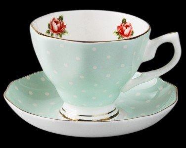 PPuujia Copa de vino China Tangshan Guci taza de café set plato de cerámica té de la tarde británica variedad creativa de tazas de alto grado (color: 6)