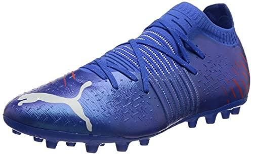 Puma Future Z 1.2 MG, Zapatillas de fútbol Hombre, Bluemazing-Sunblaze, 40.5 EU