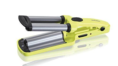BaByliss H120E Mini Triferro per Onde Naturali, Rivestimento Satin Touch