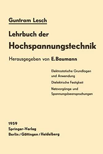 Lehrbuch der Hochspannungstechnik