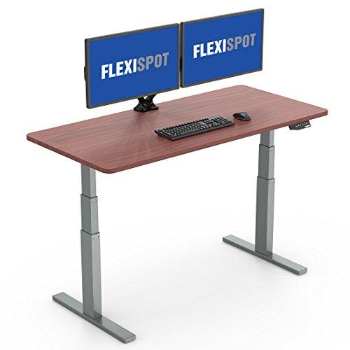 FlexiSpot スタンディングデスク 電動昇降デスク 高さ調節パソコンデスク PC作業台 ワークテーブル