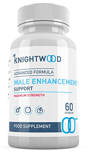 KnightWood Male Enhancement (60 Capsules) - Advanced Formula - Vitamin B6, Saw Palmetto, Ginseng Extract Korean, Fenugreek Powder, L-Arginine, Vegetarian Testosterone Booster - SUPPLEMENT PARADISE