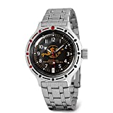 VOSTOK | Scuba Dude Amphibian Automatic Self-Winding Russian Diver Wrist Watch | WR 200 m |Fashion |...