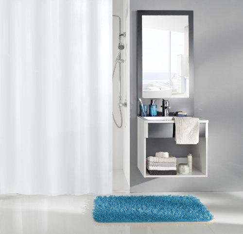 Kleine Wolke 0308100350 Duschvorhang Caravelle, 240 x 200 cm, weiß