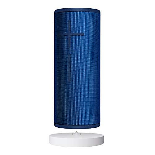 Ultimate Ears Boom 3 Bluetooth Lautsprecher (Wasserdichter 360°-Sound) - Blaue Lagune + Power Up Ladestation