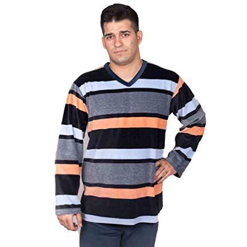 Babelo Pijama de Hombre tondosado 1054 - Marino, 60