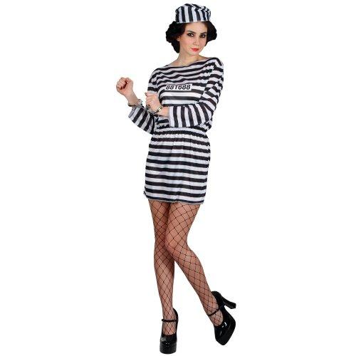 Wicked - Costume da carcerata, taglia L