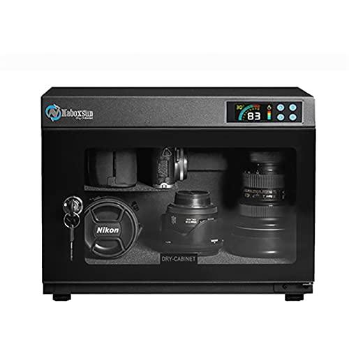 Armadietto per asciugatura a prova di umidità elettronica, Deumidificatore automatico da 28L Deumidificatore per la fotocamera per la fotocamera per la fotocamera domestica, utilizzata per la lente de