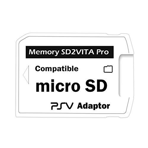 SD2VITA Pro Adapter 5.0für PS Vita 3.60 Micro-SD-Speicherkarte Henkaku