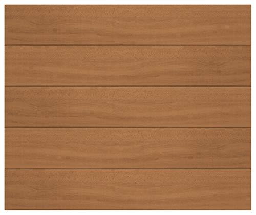 Paneles de techo de 1 m² | vetas de madera marrón | poliestireno extruido | decoración interior | paneles decorativos | XPS | Hexim | 100 x 16,7 cm | P-05