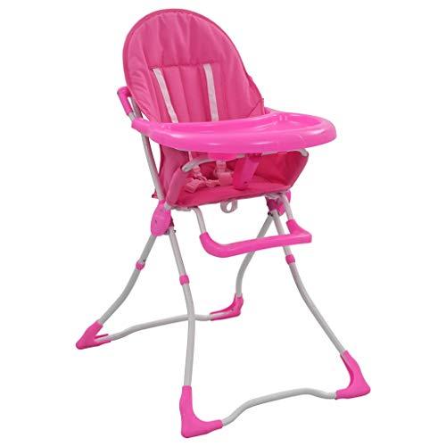 Tidyard Baby Hochstuhl für 6 bis 36 Monaten Zusammenklappbar Babystuhl Kinderstuhl Kinderhochstuhl Babyhochstuhl Baby...