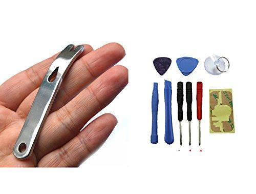 Bluelans Pied-de-biche de poche en acier inoxydable, Outil de survie