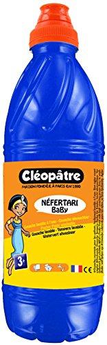 Cléopâtre - PGBB1-3 - Peinture Gouache Néfertari Baby - Bleu outremer - Flacon 1 L