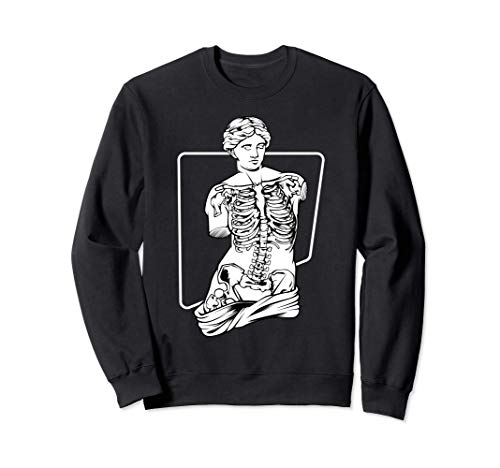 Venus Skeleton Poison - Aesthetic Vaporwave Soft Grunge Sudadera