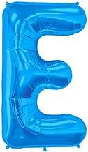 Blue Letter E 41cm Foil Balloon