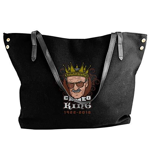 Cameo King Stan Lee Fashion Canvas Shoulder Bag For Women