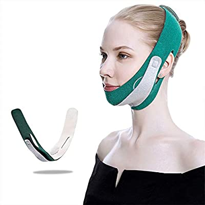 Face Slimming Strap, Double Chin Reducer Face Lifting Belt V line Chin Up face lifting Strap for improving Sagging skin, Anti Wrinkle and firming skin by Kimbloem