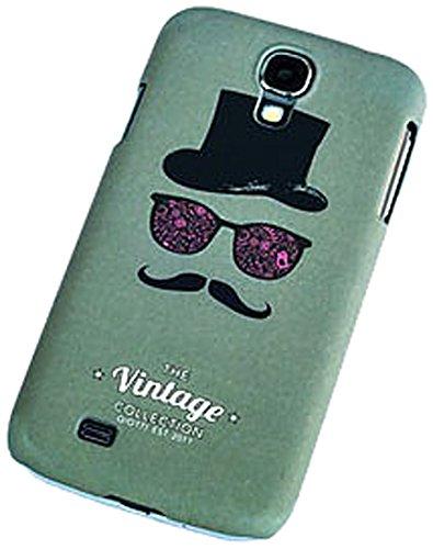 Qiotti Curve-Cover per Samsung Galaxy S4 GT-I9505, Motivo: Vintage