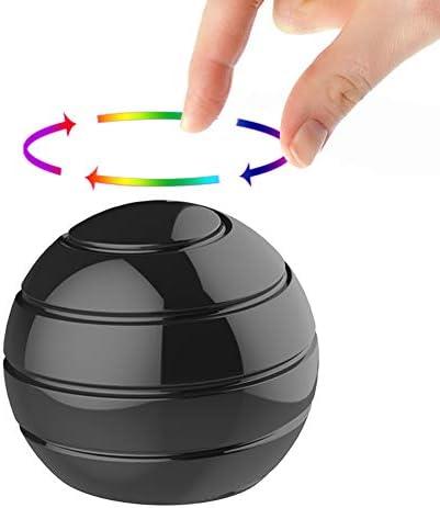 Manzelun Kinetic Desk Toys Full Body Optical Illusion Fidget Spinner Ball Gifts for Men Women product image