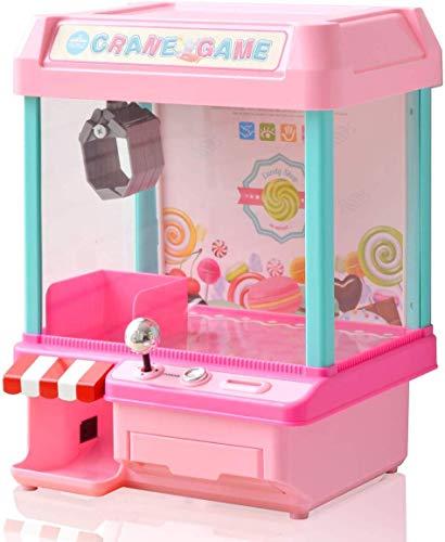 RiZKiZ クレーンゲーム キャンディ あのゲームが自宅で楽しめる!パーティーやお楽しみ会にも (ピンク(2WAY...