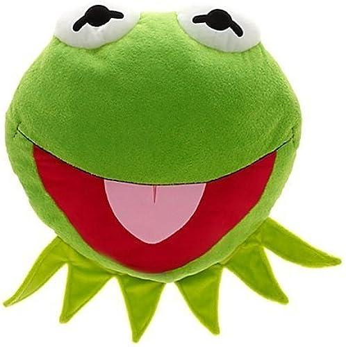 precios bajos Disney, Muppet's Kermit Soft Plush Big Face Cushion Pillow by by by Disney  moda