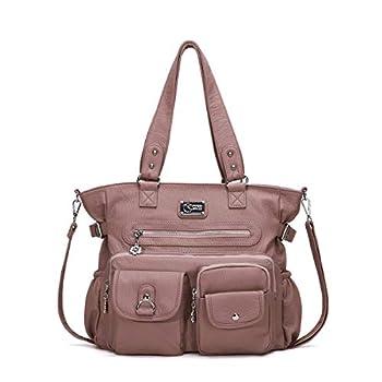 KL928 Purses for Women Shoulder Handbags Large Crossbody Hobo Bag A-pink