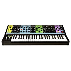 49-key Semi-modular Paraphonic Analog Synthesizer with Stereo Analog Delay 90 Modular Patch Points 256-step Sequencer Arpeggiat