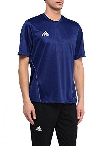 adidas COREF TRG JSY Camiseta, Hombre, Azul Oscuro/Blanco, XS