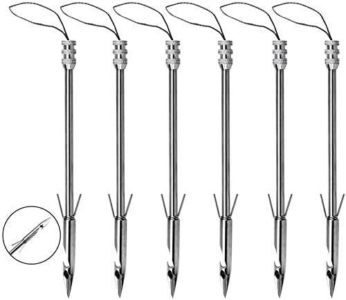 Financial sales sale UUS 15Pcs Stainless Max 71% OFF Steel Slingshots Bow Broadhea Arrows Fishing