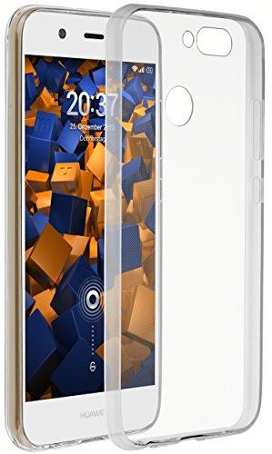 mumbi Hülle kompatibel mit Huawei Nova 2 Handy Hülle Handyhülle dünn, transparent
