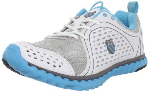 K-Swiss Blade Foot Run 92787011 - Zapatillas de running para mujer, Plateado, 41.5