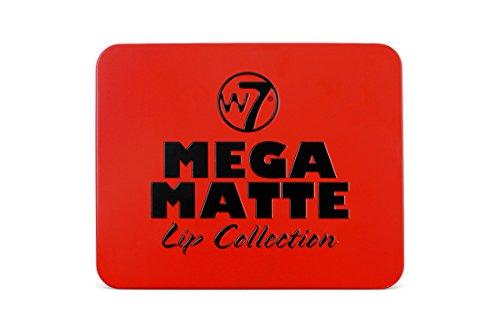 W7 Mega Matte Lip Collection Tin 7 ml, 4 pezzi
