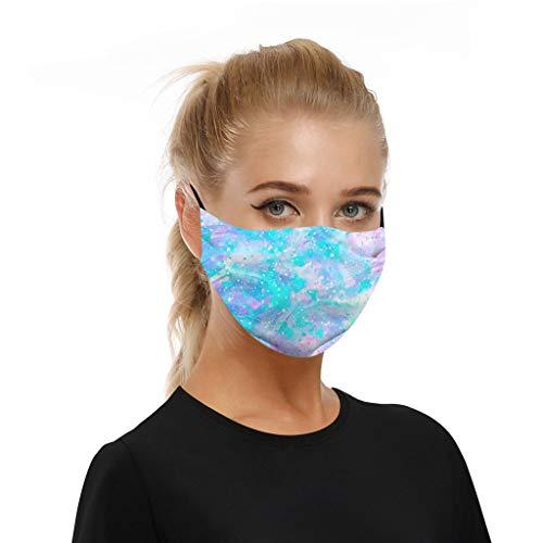 WiHoo Face Cover Multifunktionstuch Motorrad Winddicht Atmungsaktiv Mundschutz Halstuch Schön Atmungsaktiv Sommerschal Augenschutz