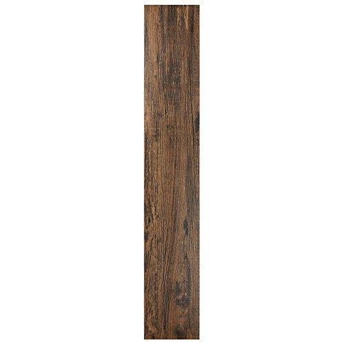 "Achim Home Furnishings VFP2.0MH10 Tivoli II Peel 'N' Stick Vinyl Floor Planks (10 Pack), Mahogany, 6"" x 36"", 10 Count"