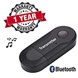 Yonovo Wireless Bluetooth 4.0 Transmitter Stereo Audio Music Adapter for TV, Phone, PC