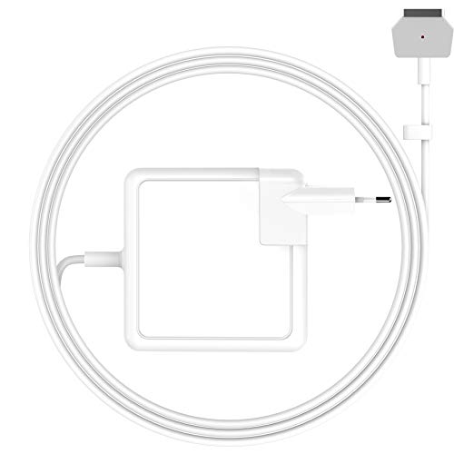 SIXNWELL Mac Book air Ladegerät, Mac Book Air ladekabel 45W MagSafe 2 Magnetic T Form Netzteil Ladegerät für MacBook Air 11